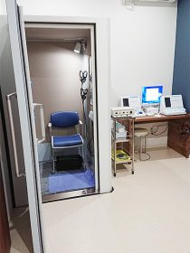 聴力検査室